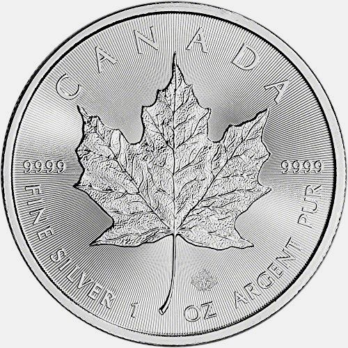 New! 2017 CA Canada Silver Maple Leaf (1 oz) $5 Brilliant Uncirculated Royal Canadian Mint https://www.world-coin-collector.com/product/2017-ca-canada-silver-maple-leaf-1-oz-5-brilliant-uncirculated-royal-canadian-mint/ #CoinCollecting #SilverCoins