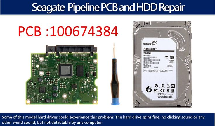 Seagate Pipeline  repair data recovery 100674384 ST2000VM003   ST2000VM0...