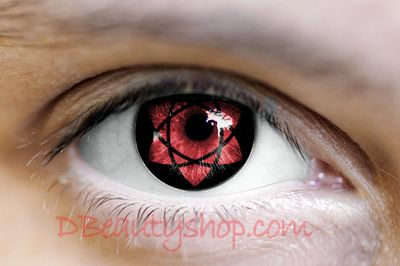 Sasuke Uchiha Mangekyou Sharingan Circle Contact Lenses