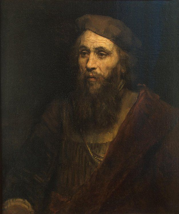 Rembrandt, Portrait of a Bearded Man, 1661, Hermitage, St. Petersburg