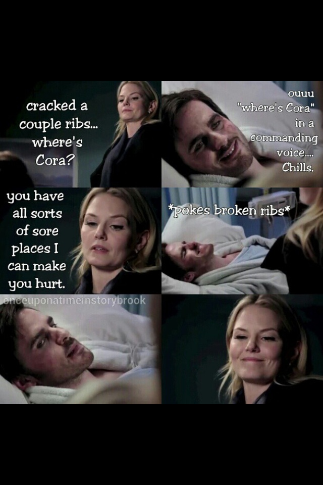 Hook and Emma - Captain Swan. This is why I love them since the very beginning, because of how they started their history