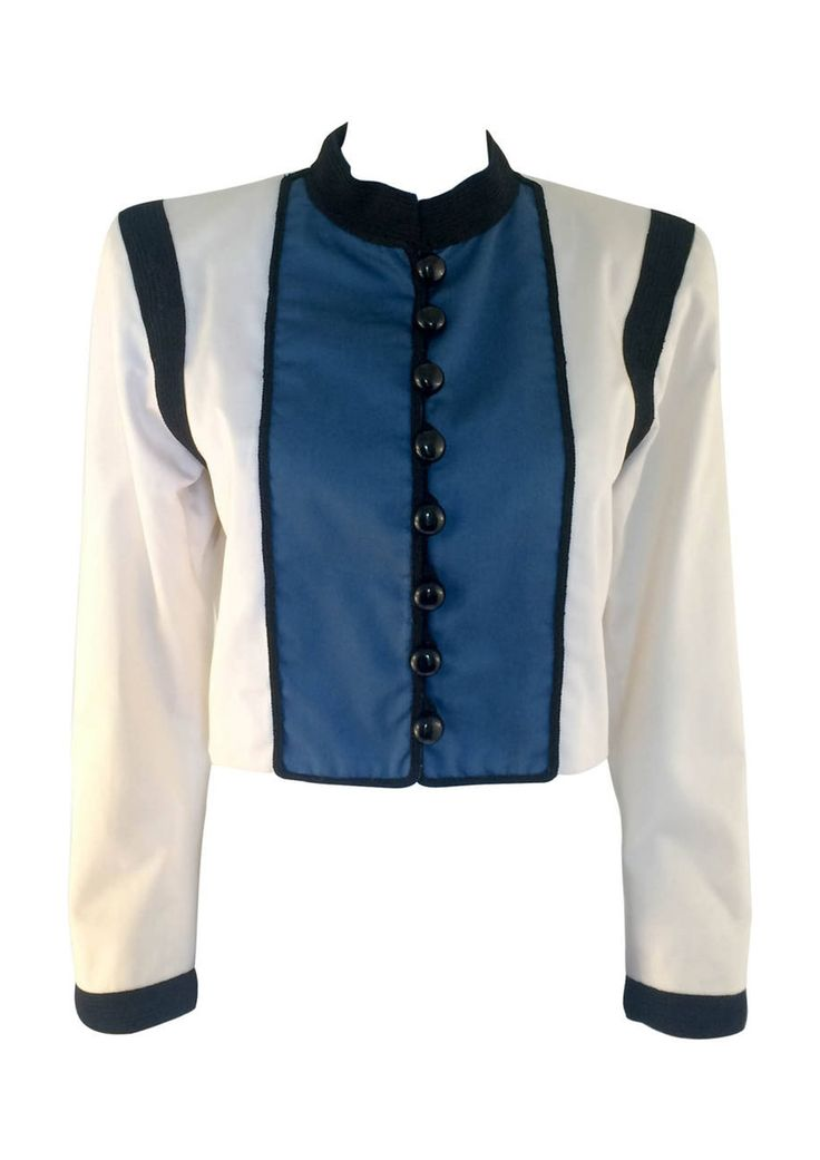 Yves Saint Laurent Jacket - 1980s / 1990s via House of Pre-Loved - Vintage Boutique. Click on the image to see more!