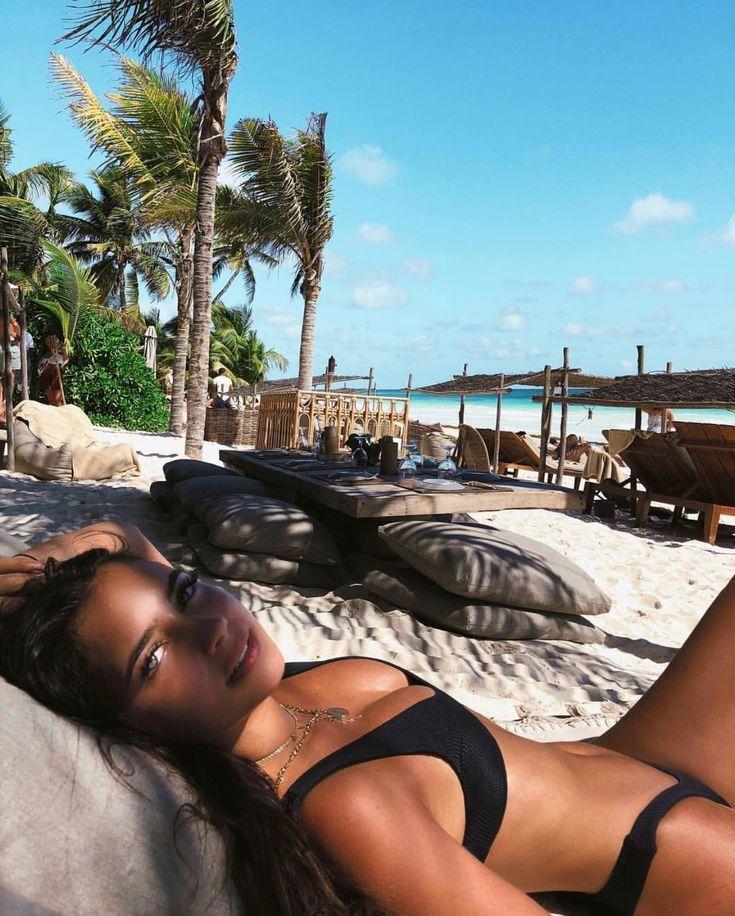Sommer Style & Beach Wear Ideen 2017/2018 ♡ | @_nikoletalj_ | www.nikoletalj ….