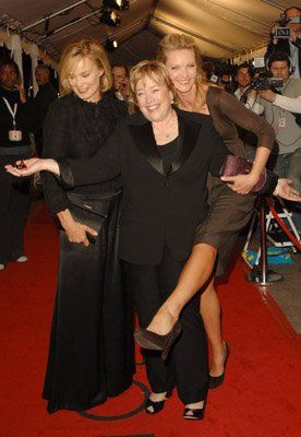 Joan Allen, Kathy Bates and Jessica Lange at event of Bonneville
