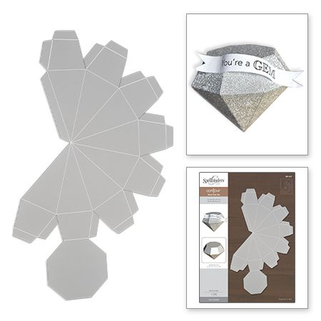 Designed for today's Modern Maker, Spellbinders® Contour™ Steel Rule Dies add a whole new dimension to your creative projects. Cut up to eight layers in a single pass when using our Platinum™ die cutt