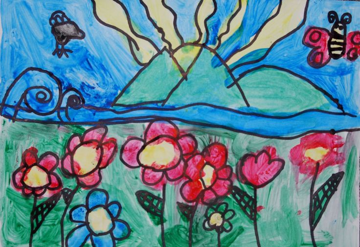 flowers- 7 years old