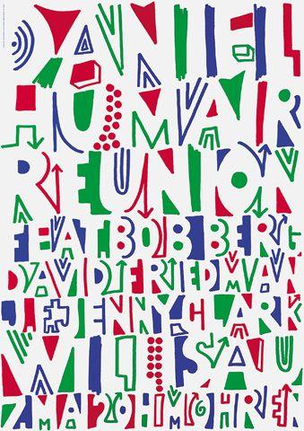 Daniel Humair Reunion by Niklaus Troxler