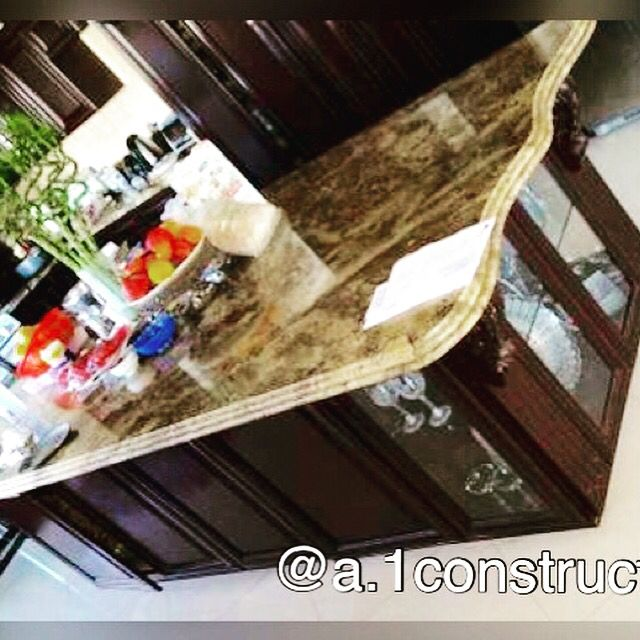 Custom marble counter top
