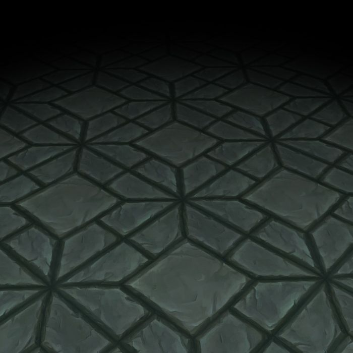 Stone Floor Texture Tile 10   3dfancy.com