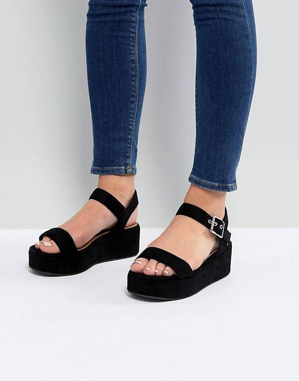60692085780 ASOS TOUCAN Wedge Sandals