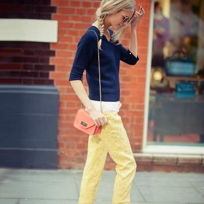 Poppy Delevinge London Fashion Week