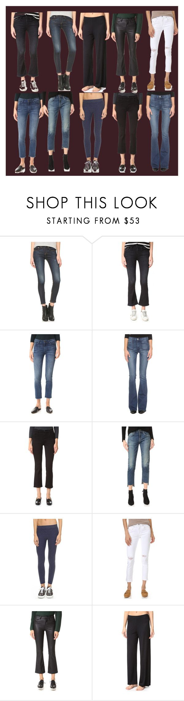 """pants jeans"" by monica022 ❤ liked on Polyvore featuring rag & bone/JEAN, R13, DL1961 Premium Denim, McGuire, J Brand, Citizens of Humanity, Phat Buddha, Blank Denim, Only Hearts and vintage"