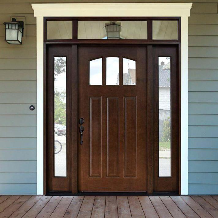Steel Entry Door With Sidelights