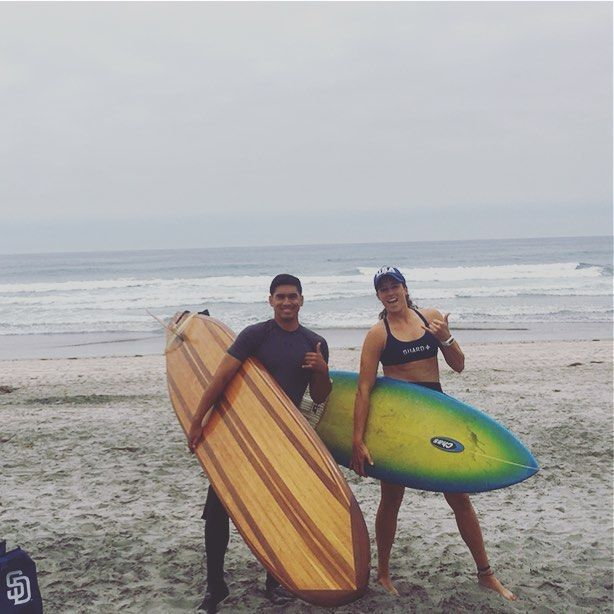 Such an amazing experience out in the ocean today! Had the honor of surfing with a pack of dolphins. They were swimming, surfing, and jumping the waves for a solid 15min right near us. Closest I've ever been, was incredible. Such beautiful animals! #delmar #surfsup #surfing #beachin #dolphins #sandiegoconnection #sdlocals #delmarlocals - posted by K a t e 🌻 G r e a t h o u s e https://www.instagram.com/grrreathouse. See more post on Del Mar at http://delmarlocals.com