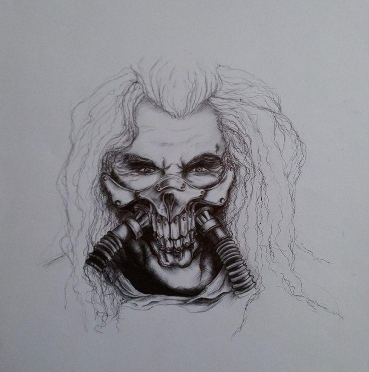 Drawing Immortan Joe - Mad max fury road