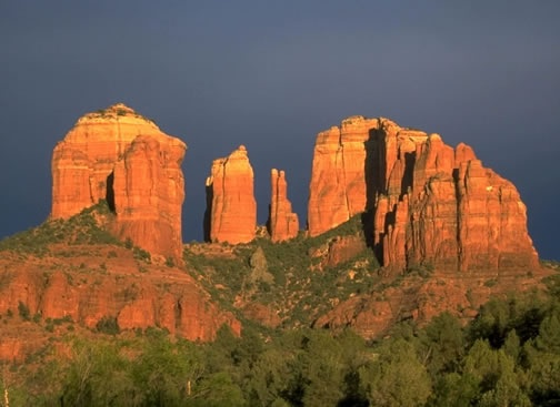 Cathedral Rock, Sedona AZ -- fantastic views; always worth the hike/climb!