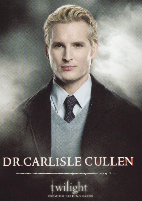Dr. Carlisle Cullen....no more words needed.  The ones he says in 'Twilight' cover it all! Inspirational in many ways.