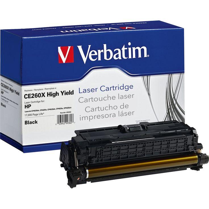 Verbatim Remanufactured Laser Toner Cartridge alternative for HP CE26 #99382