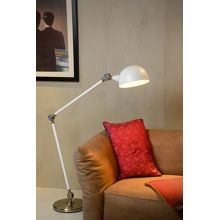 Lucide Campo Vloerlamp 165 cm - Wit
