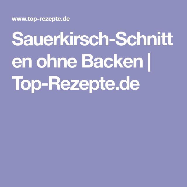Sauerkirsch-Schnitten ohne Backen   Top-Rezepte.de