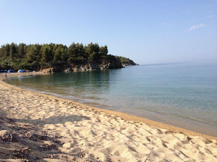 3 days free camping at Chalkidiki! Loved it!