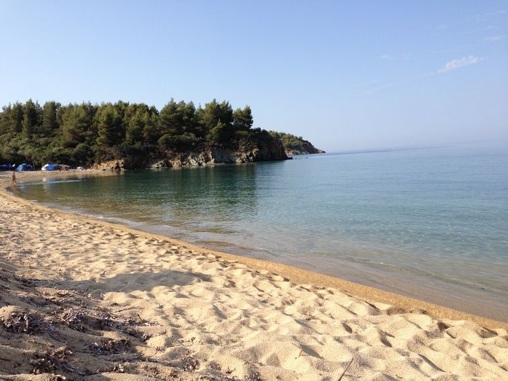 3 days free camping at Chalkidiki! Loved it!