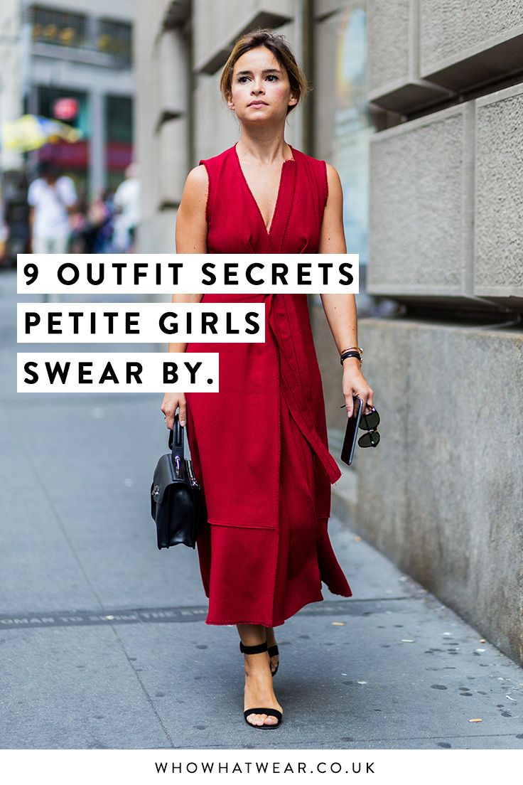 How to dress if you're short: from colour combos to sneaky tricks that make you look taller.