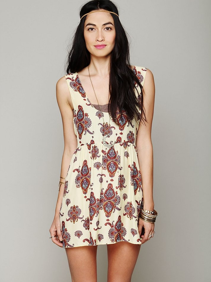 One Teaspoon Peace Train Cali Dress at Free People Clothing Boutique