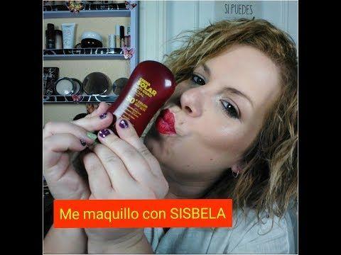 Me maquillo con SISBELA (crema solar con color) Mercadona. - YouTube
