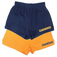 Pack a pair of Camp Canadensis logo shorts, any style you like! Soffe shorts