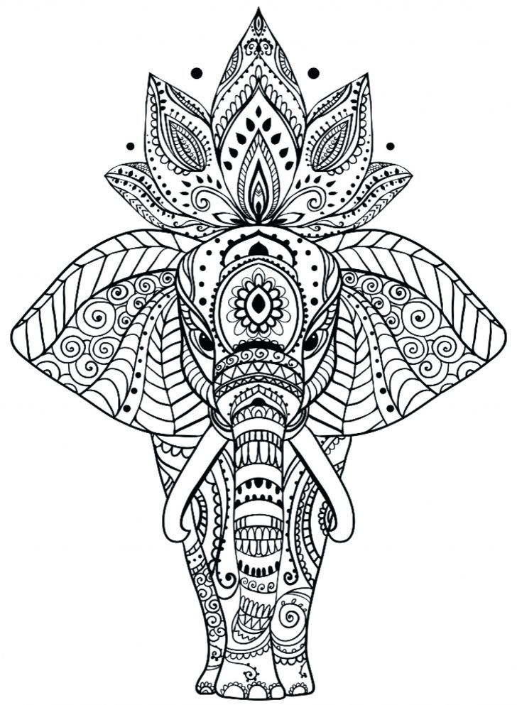 Animal Mandala Coloring Pages Animal Mandala Coloring Pages Best
