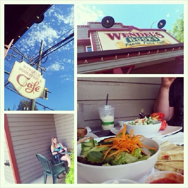 Lunch at Wendel's Bookstore and Cafe in Fort Langley. Submitted by @Tanya Zaleski via Instagram.