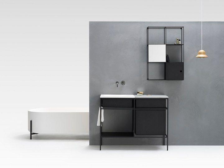 ext norm architects sebastian herkner due diverse interpretazioni del bagno in anteprima al salone kid bathroomsmodern bathroomminimalist. Interior Design Ideas. Home Design Ideas