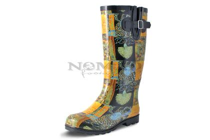 Puddles Iii Artist Collection Rain Boot In Sun And Moon