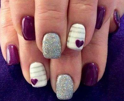 #¿Tienen las uñas cortas? Aquí están las uñas diseños te va a encantar...