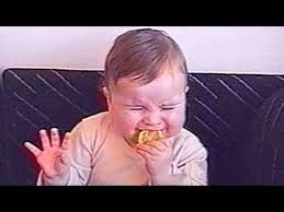 Image result for funny pics of babies crying