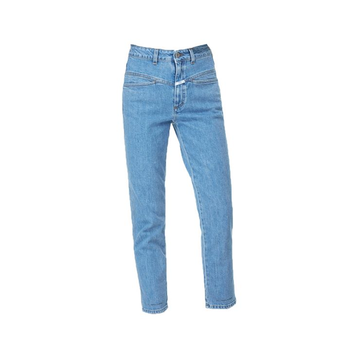 Our favorite #MomJeans are here! This one is the new Pedal Pusher by #Closed