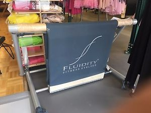 Fluidity Barre System Total Body Workout Portable Ballet Bar   eBay