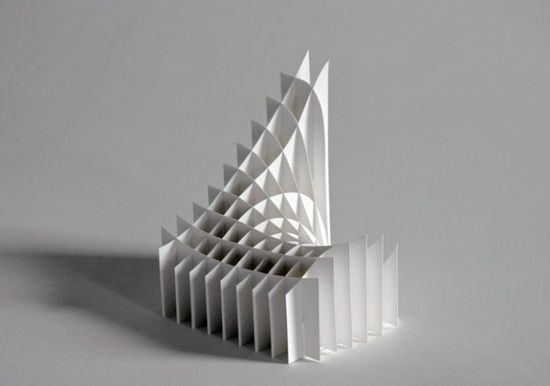 Richard Sweeney paper sculpture- interests me as i really like the way how when paper fits together it can support itself and form a structure.