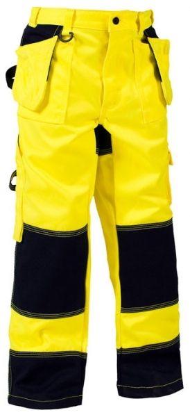 Blåkläder håndværkerbukser til børn, fl. gul/marine (1524-1860-3389) - BILLIG-ARBEJDSTOJ.DK