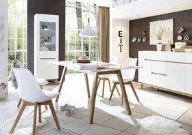 Stół SPARTA lakier matowy biały