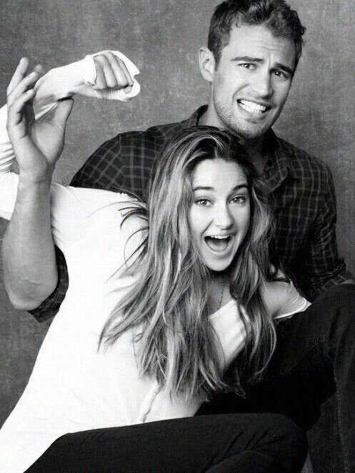 Shailene Woodley et Théo James ♡