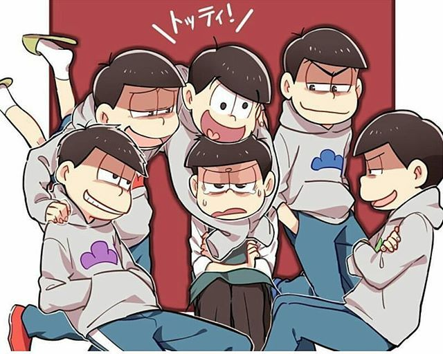 Everyone's picking on Totty even Karamatsu I mean look at his face