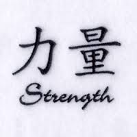 Image result for strength in chinese tattoos