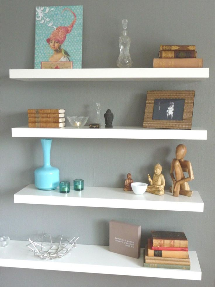 158 Best Images About Shelves On Pinterest Shelves Kitchen Wall