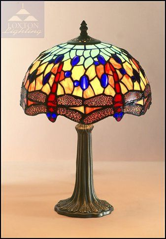 11 best tiffany lamps images on pinterest tiffany lamps tiffany pm04 30cm blue dragonfly design tiffany stained glass table lamp amazon aloadofball Image collections