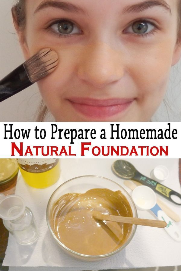 This beauty product can be made at home, after a recipe with natural ingredients. Follow these simple steps and you'll get the best foundation you have ever had!