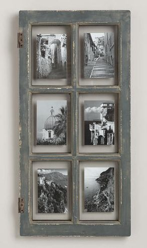 Rustic Gray Windowpane Frame http://rstyle.me/n/ts2tibh9c7