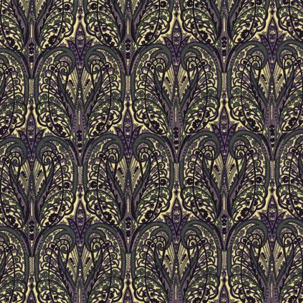 Robert Kaufman Fabrics: EG-4815-2 JEWEL from Jardin Nouveau