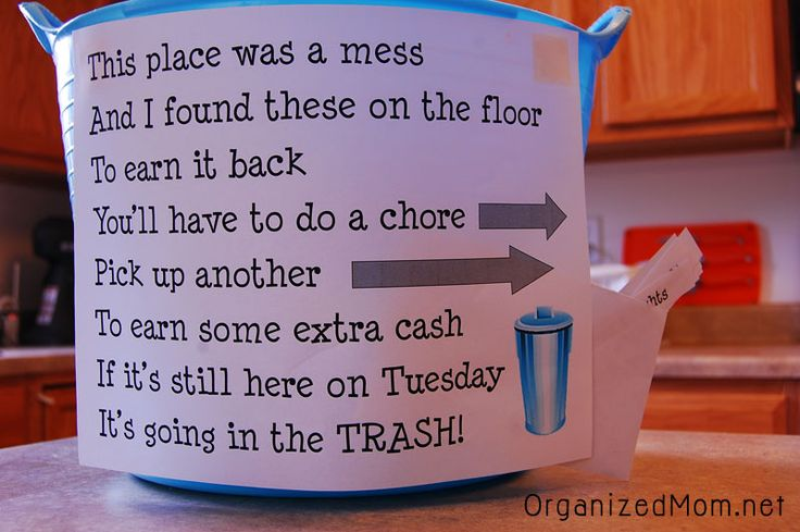 Messy Kids Solution